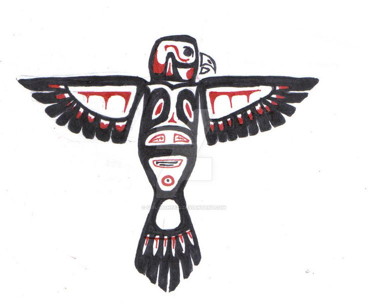 Native Art Eagle Or It Was Supposed To Be One Anyways Music