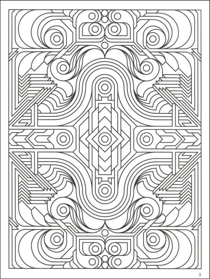 Highly Detailed Printable Coloring