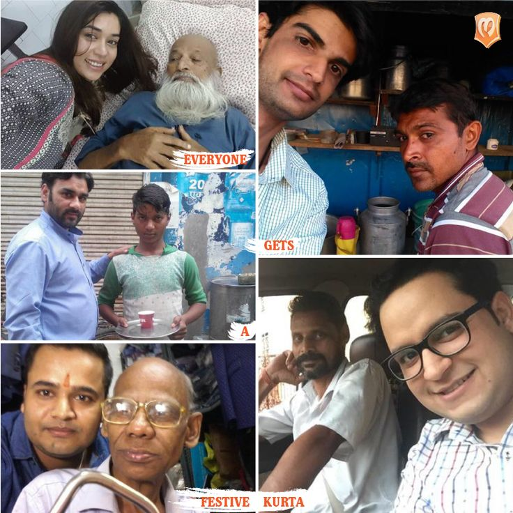 Chaiwala Chotu, Rickshaw wale Bhaiya, Tailorji, everyone will get a Kurta this Diwali. Take a selfie with someone who may not have a kurta and enter now at   LAST FEW HOURS TO ENTER