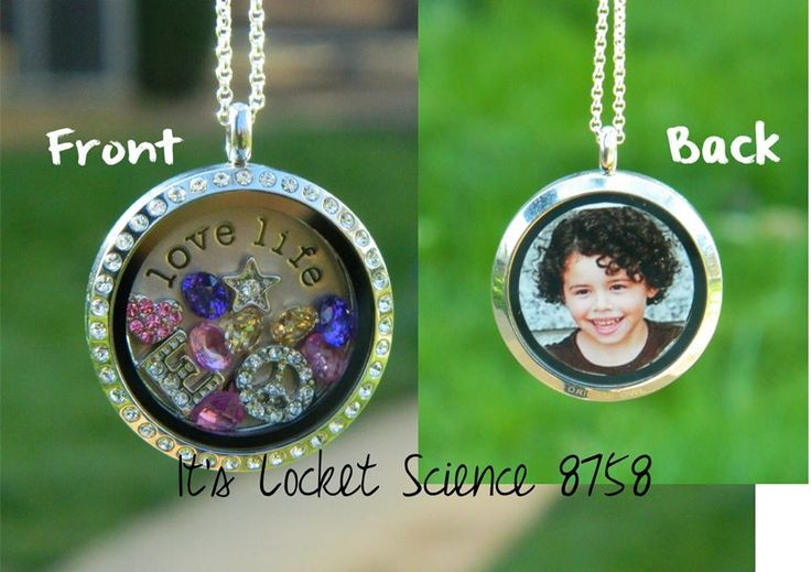 Origami Owl Living Locket -- how to place a photo in the back window of your locket www.facebook.com/OrigamiOwlJanaEdgarIndependentDesigner