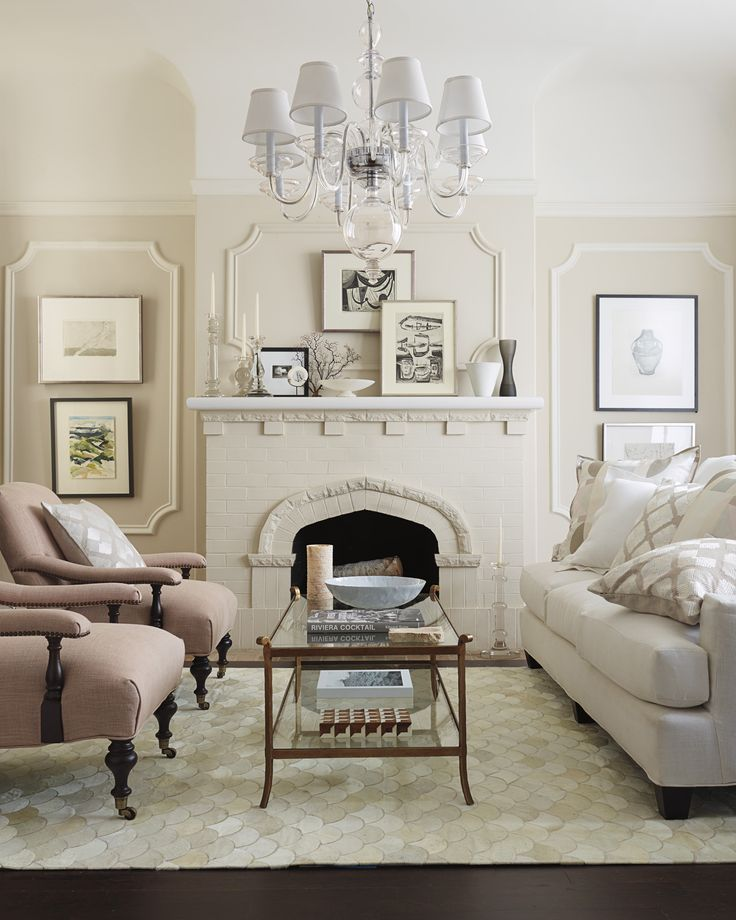 Glamour Gone Casual Serenaandlily Living Room Ideas