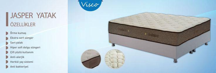 Örme kumaş (özel dokulu)     Hiper soft dolgu süngeri    Herkül yay sistemi (5 Konfor bölgeli)    Ekstra sert sünger (High Density)    Çift yüzlü    Anti-Bakteriyel    Anti-Alerjik    Sert yatak    30 cm Yükseklik    Flatpack ambalaj