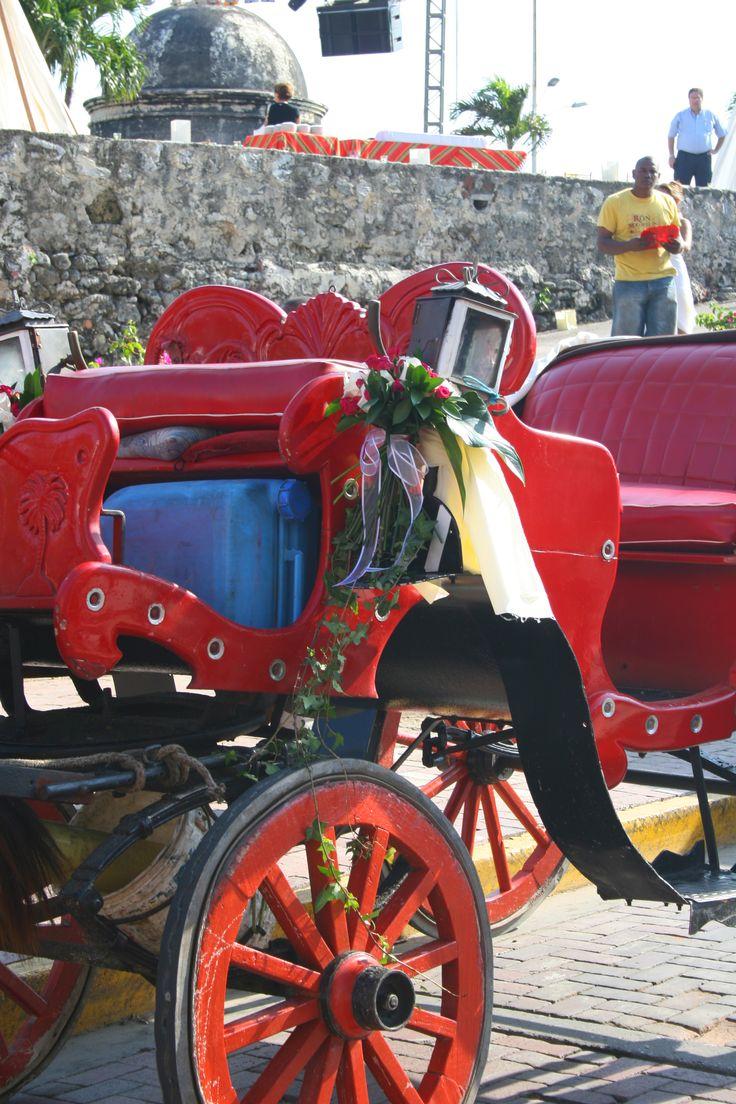WEDDING CAR DECORATION CARRIAGE