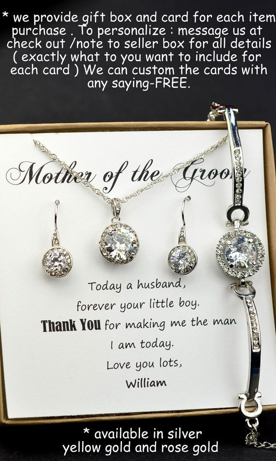 Mother Of The Groom Bride Gift On Law Thank You