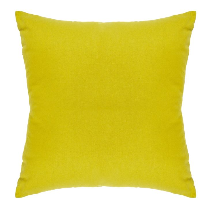 Debenhams Green cotton square cushion- at Debenhams.com