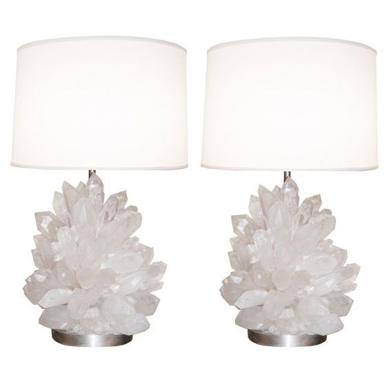 1stdibs - Pair of Rock Crystal Lamps explore items from 1,700  global dealers at 1stdibs.com