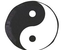 Yin Yang Painted Spare Tire Cover