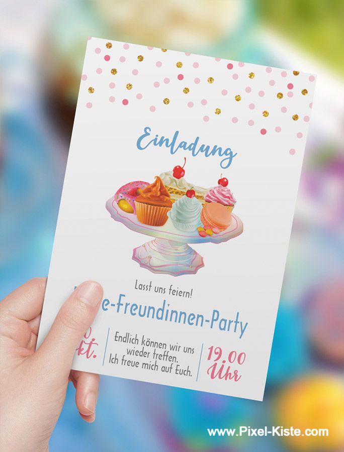 Pin Auf Geburtstag Einladungen