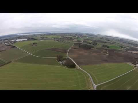 Nu skulle Dronen og Kamera være færdig optimeret og det er ved 60 billeder i sekundet og rimelig høj bitrate, jeg er selv helt tilfreds med panoreringen nu s...