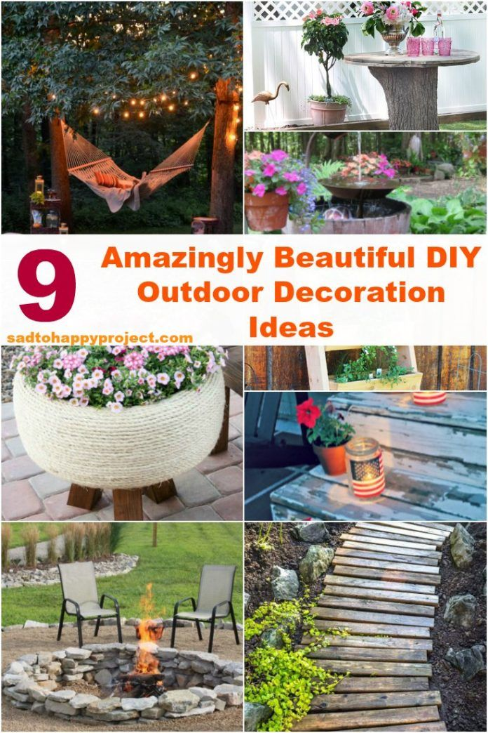 9 Best Diy Garden Decoration Ideas With Recycled Items Diy