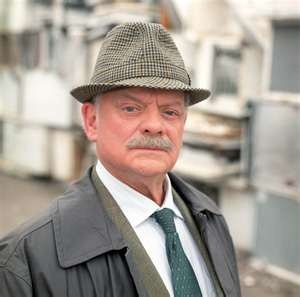 """""""A Touch of Frost"""" starring Sir David Jason as Detective Inspector William Edward """"Jack"""" Frost."""