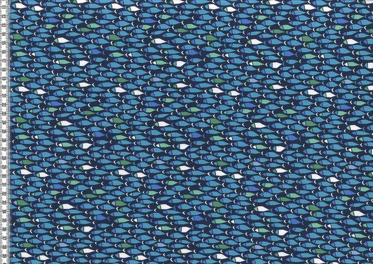 Million Fish: tricot naar het design van Lila-Lotta - kleurenmix