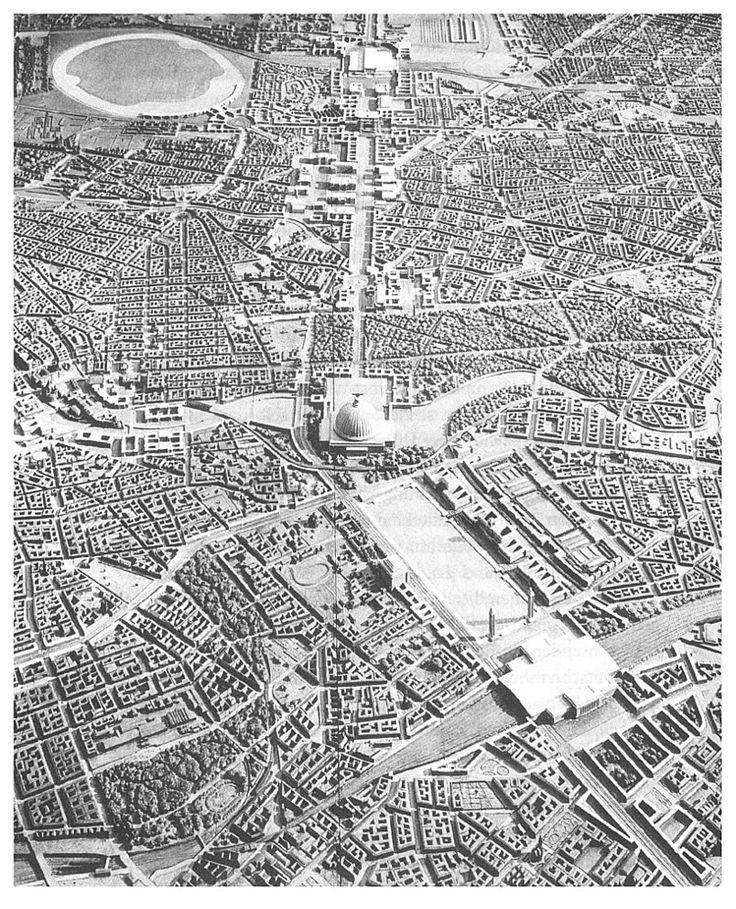 Welthauptstadt Germania, Albert Speer, 1939