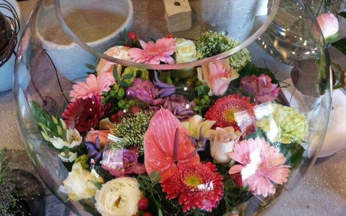 Bloemen bokaal