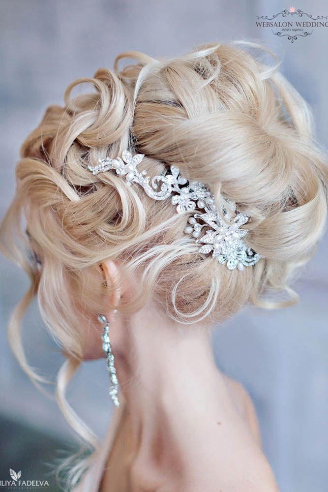 18 Creative And Unique Wedding Hairstyles ❤ See more: http://www.weddingforward.com/creative-unique-wedding-hairstyles/