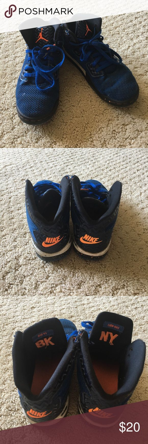 Boys Air Jordan sneakers Worn with love Boys Air Jordan Spike Forty hi top sneakers Nike Shoes Sneakers