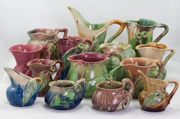 Remued early series jugs