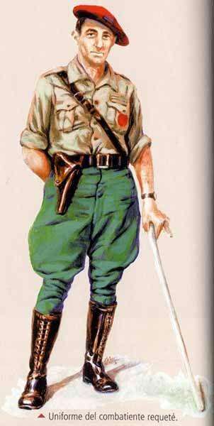 Guerra Civil Española: uniforme del combatiente requete' - pin by Paolo Marzioli