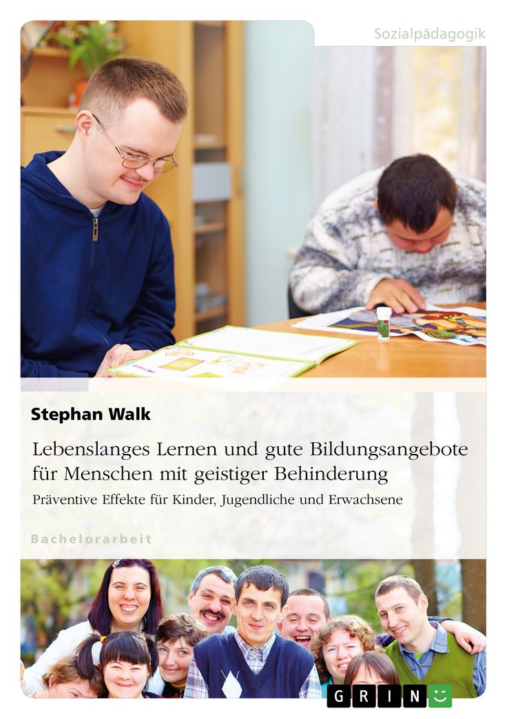Lebenslanges Lernen und gute Bildungsangebote für Menschen mit geistiger Behinderung