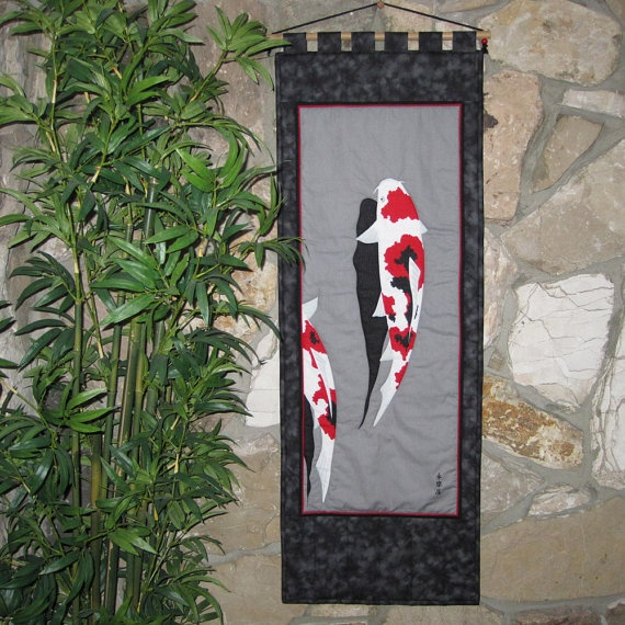47 best images about koi quilts on pinterest for Koi pond quilt pattern