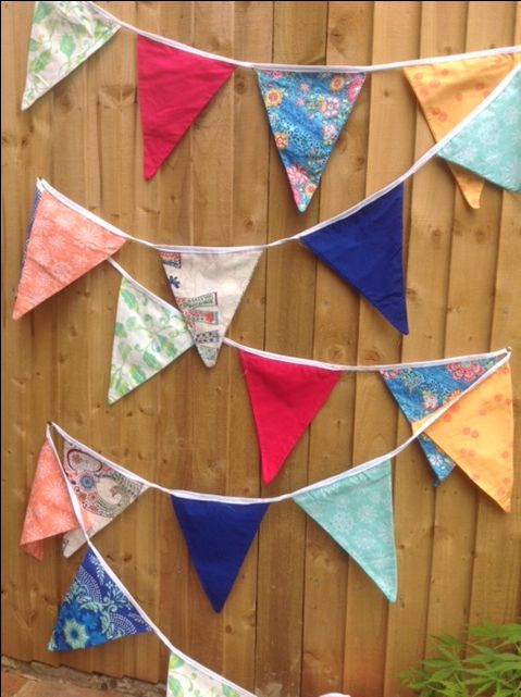 Handmade bunting as well for hire