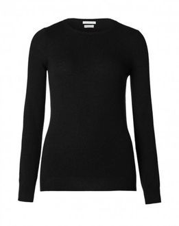 Black sweater (not this one, but similar), same style as the grey one I bought back in November. December 2014.