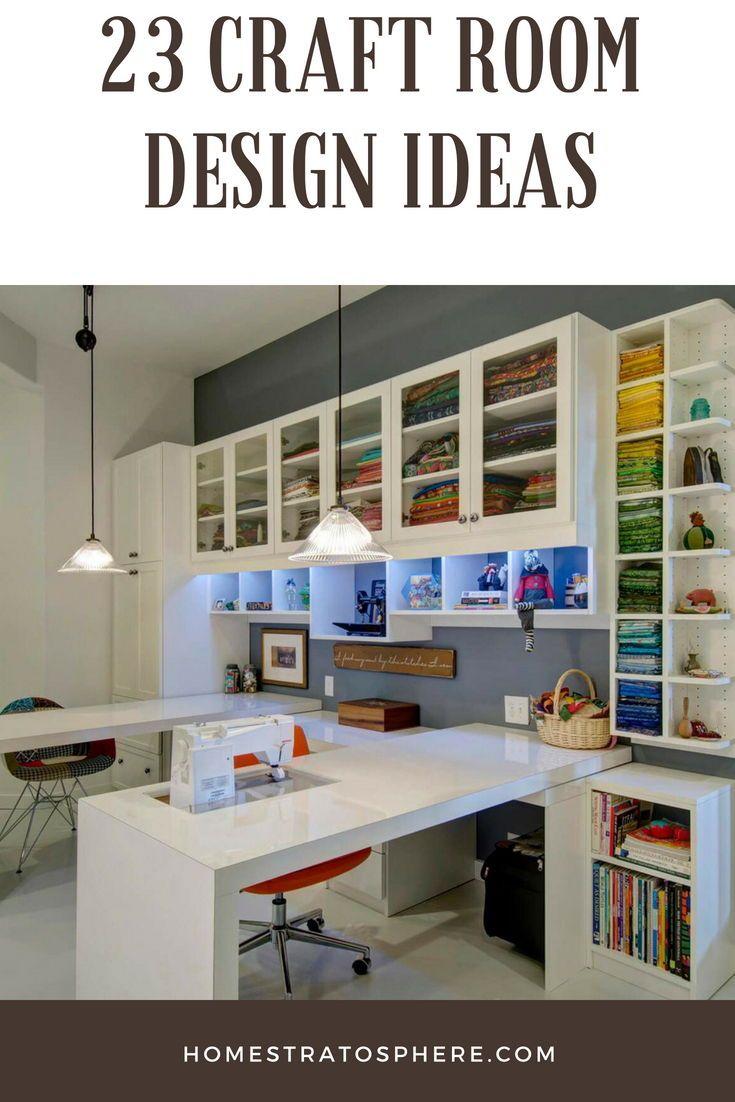 23 Craft Room Design Ideas Creative Rooms Craft Room Design