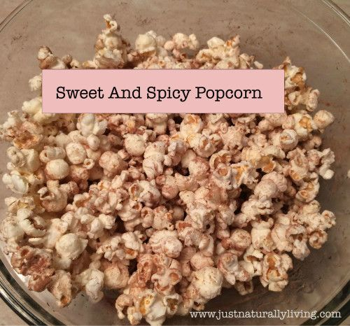 Craving a late night snack? Try this sweet and spicy popcorn recipe. It is low in calories and has other health benefits
