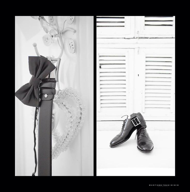 Groom outfit details, b&w Photo by Manthos Tsakiridis