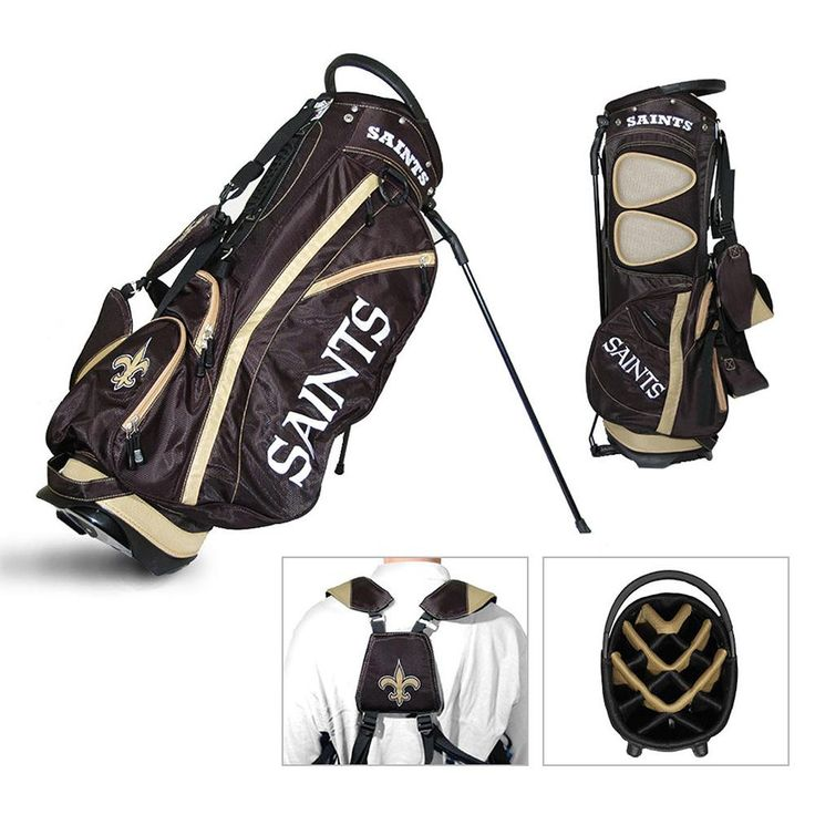New Orleans Saints NFL Stand Bag - 14 way Fairway