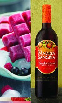 Madria Sangria - Frozen Madria Sangria Pops