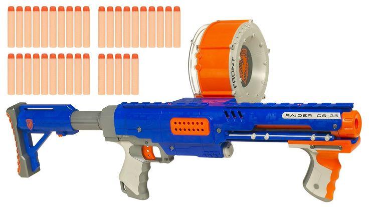 Nerf N-Strike Raider Rapid Fire CS-35 Dart Blaster - Blue