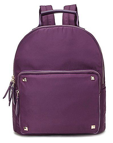 New Trending Backpacks: Big Handbag Shop Unisex Soft Fabric Medium Size Backpack Rucksack Shoulder Bag (Design 2 - Purple). Big Handbag Shop Unisex Soft Fabric Medium Size Backpack Rucksack Shoulder Bag (Design 2 – Purple)   Special Offer: $39.99      377 Reviews Cool lightweight unisex soft fabric medium size designer inspired top zip opening backpack rucksack shoulder bag with a front zip pocket with...
