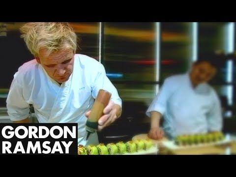 Learning to make Sushi - Gordon Ramsay - YouTube