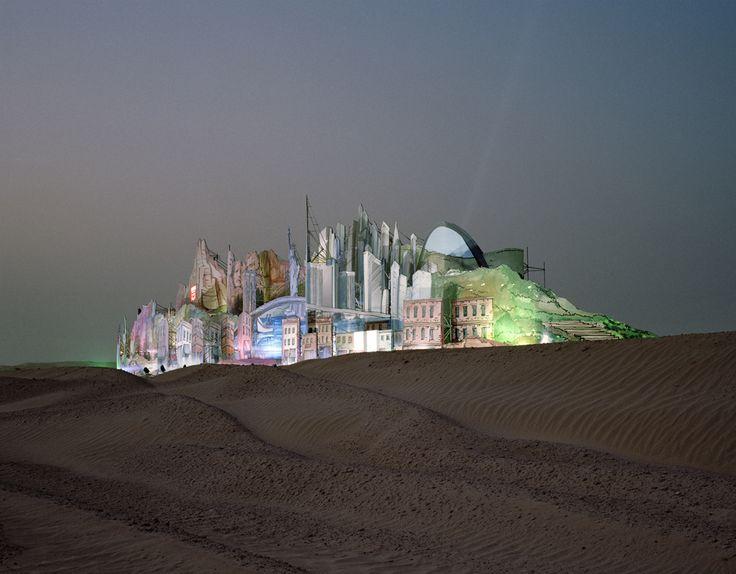 Florian Joye: Conceptual Art, Bawadi 2006, Art Photography, Desert Gates, Places, Florian Joy, Series Desert, Joye Florian Bawadi 1B, Joy Bawadi