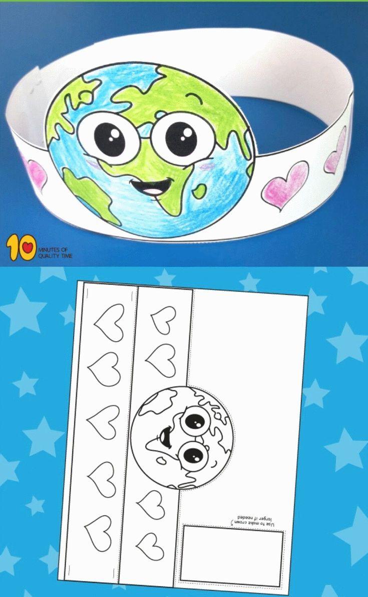 Ekologia Przedszkole Kolorowanki Ekologia Przedszkole In 2020 Earth Day Crafts Earth Day Activities Earth Activities