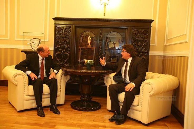 Robu i s-a plans lui Basescu ca Guvernul Ponta nu da bani Timisoarei