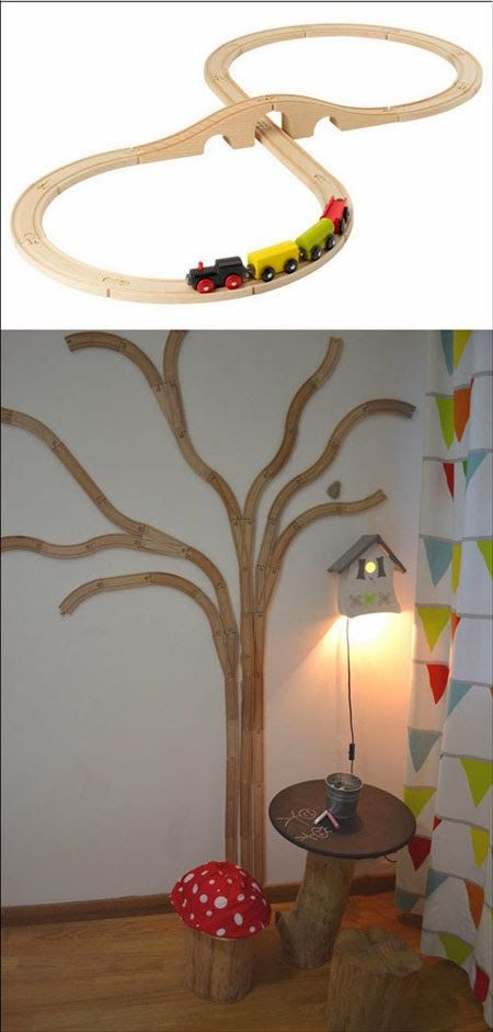 mommo design: IKEA HACKS FOR KIDS - LILLABO TREE