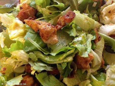Fräsch kycklingsallad - Recept