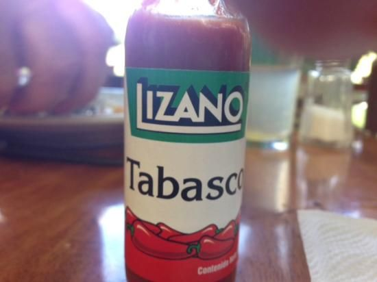 Lizano #Tabasco... said to be very good!  I was too #chicken to try! #Rincon Corobici, Costa Ric