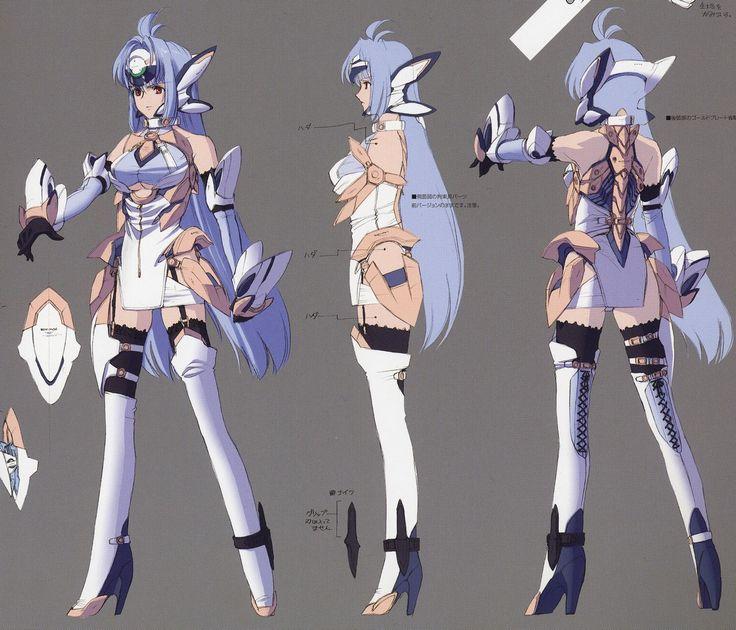 Xenosaga Character Design : Http kosmos animus sorrow artworks v