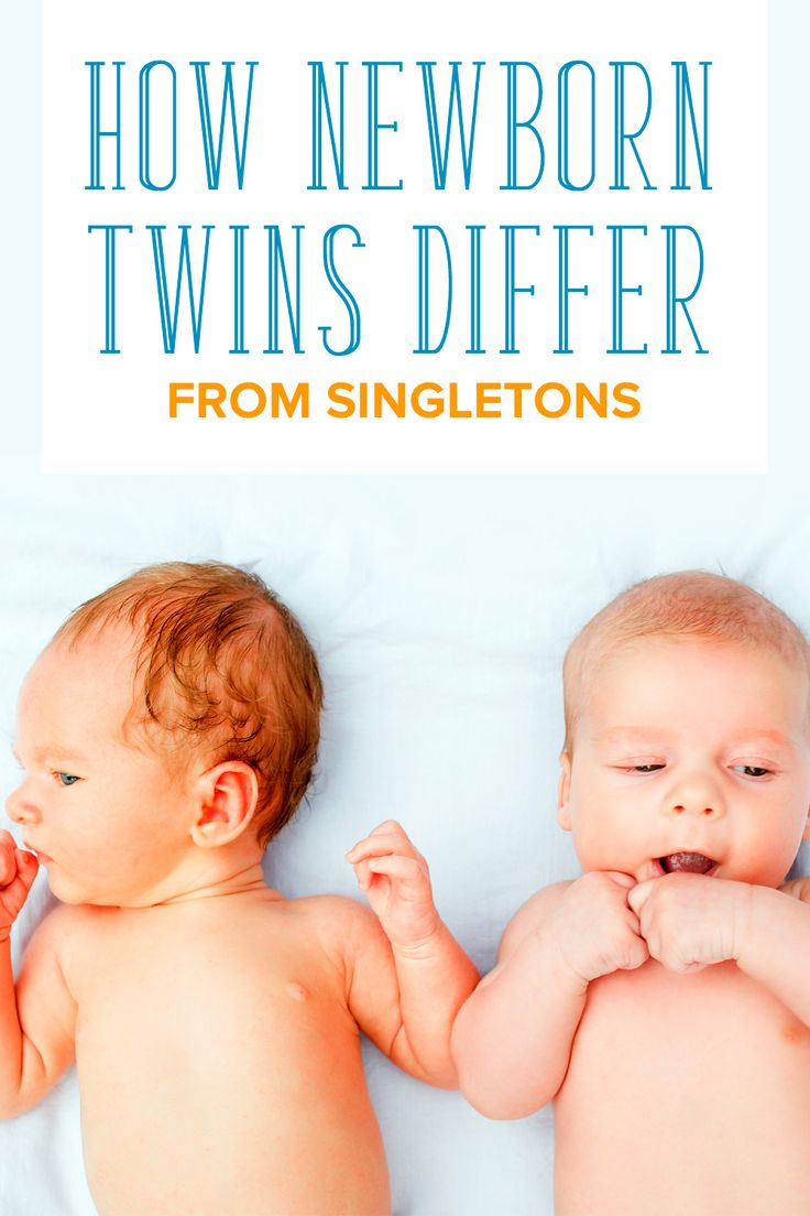 Caring for newborn twins is different from singletons. Here are the differences between newborn twins and newborn singletons and what you can do to manage.