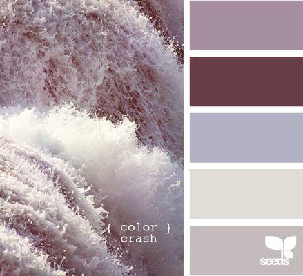 For fall I am loving the grayish, purpleish, brownish colors!