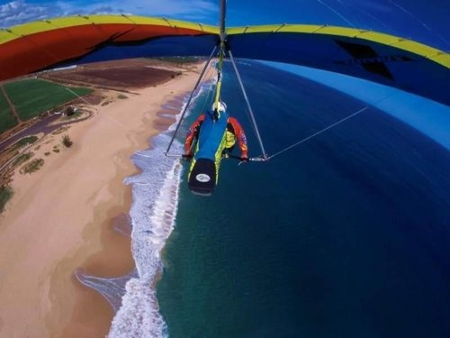 I already went on a Hot Air balloon Ride and para-sailing twice, now I want to try Hang gliding.