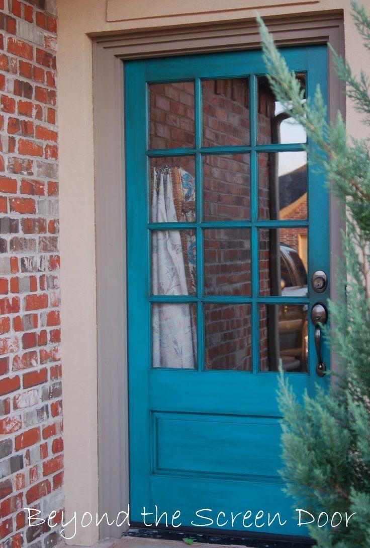44 best images about front door on pinterest front doors entrance and minwax - Exterior door paint colours model ...