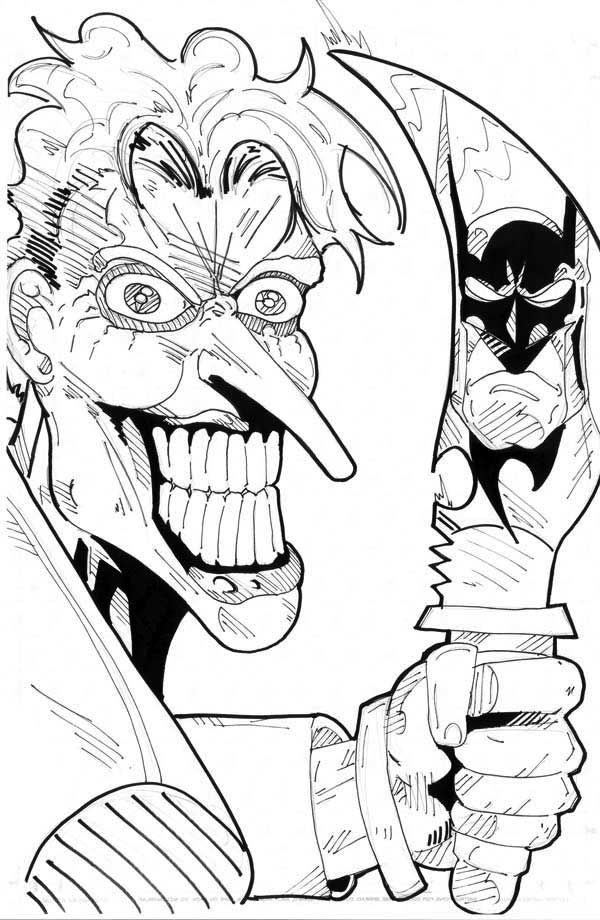 Scary Joker With Knife Coloring Page Coloring Pages Coloring Pages For Kids Scary