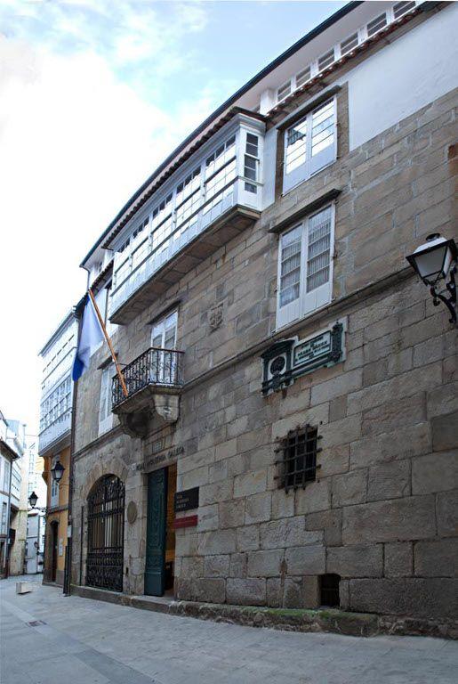 Resultado de imagen de real academia galega edificio