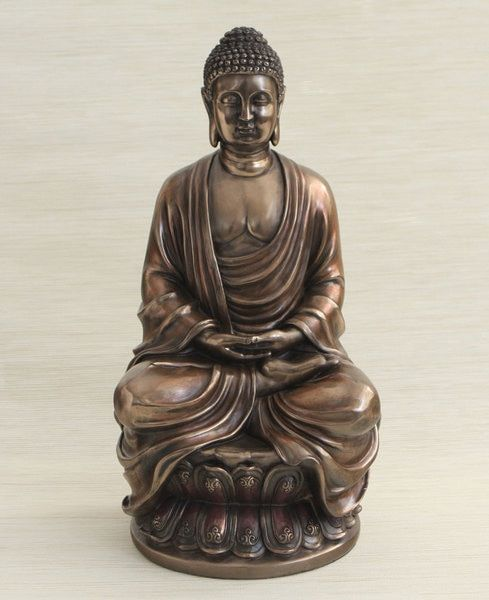 Shakyamuni Buddha Statue, 18 Inches