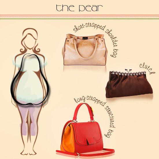 Handbags for Pear-shaped Body