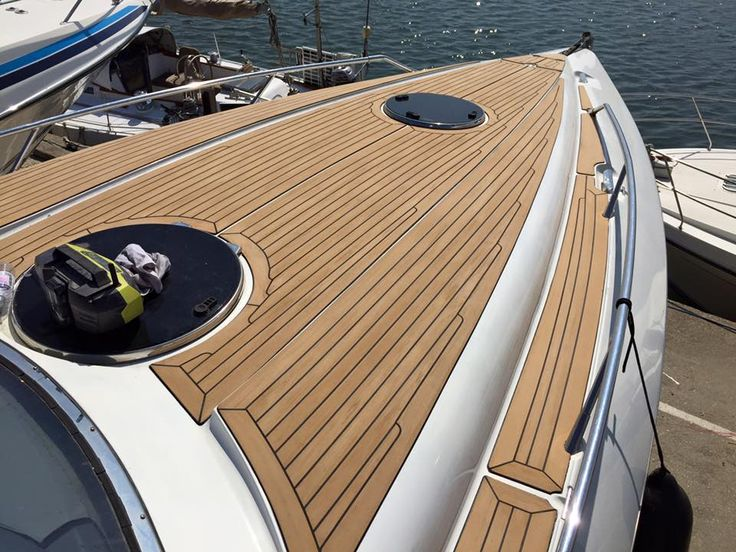 17 best images about pvc synthetic teak soft boat yacht for Vinyl decking material